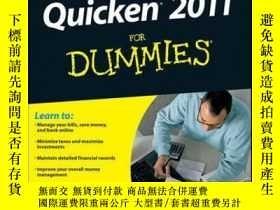 二手書博民逛書店Quicken罕見2011 For DummiesY410016 Stephen L. Nelson ISB