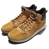 【五折特賣】 Nike 休閒鞋 MD Runner 2 Mid PREM 土黃 麂皮 黑 中筒 球鞋 男鞋 【PUMP306】 844864-700