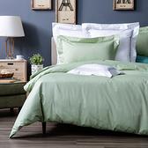 HOLA 托斯卡素色純棉被套 單人 彩綠