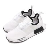 【六折特賣】adidas NMD_R1 白 黑 襪套式 BOOST 中底 女鞋 百搭款 【ACS】 DB3587