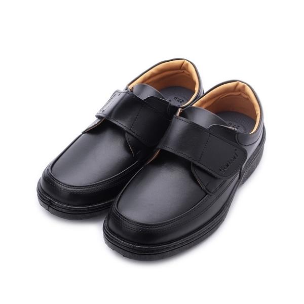 SARTORI 寬楦魔鬼氈休閒皮鞋 黑 男鞋