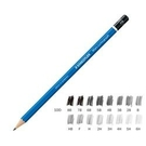 《享亮商城》MS100-3B 頂級藍桿繪圖鉛筆 施得樓