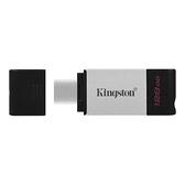 【Kingston】金士頓 DataTraveler 80 128G USB3.2 Type-C隨身碟 (DT80) [富廉網]
