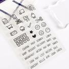 【BlueCat】廚房料理表情生活方式透明矽膠印章