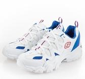 SKECHERS系列-D'LITES 2 男款白藍色復古厚底休閒鞋-NO.52690WBRD