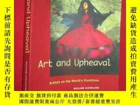 二手書博民逛書店Art罕見and Upheaval: Artists on th