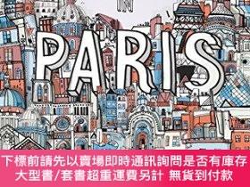 二手書博民逛書店All罕見the Buildings in Paris: That I ve Drawn So FarY360