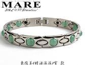 【MARE-316L白鋼】系列:東陵玉 財源滾滾 (窄)  款