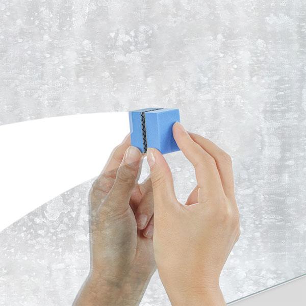 日本製 玻璃鏡面清潔海綿 鑽石鏡面清潔海綿 廁所浴室水垢污漬 廚房清潔海綿3679【SV8446】BO雜貨