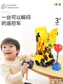 遙控車 兒童遙控警車搖控汽車機器人變形玩具金剛四驅充電小賽車電動無線 LX 8月驚喜價