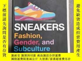 二手書博民逛書店sneakers罕見fashion gender and sub