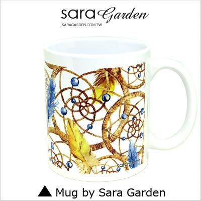 客製 手作 彩繪 馬克杯 Mug 手繪 水彩 捕夢網 流蘇 羽毛 咖啡杯 陶瓷杯 杯子 杯具 牛奶杯 茶杯