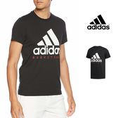 【GT】Adidas 黑 短袖T恤 運動 休閒 訓練 純棉 素色 上衣 短T 愛迪達 基本款 經典款 Logo CW9263