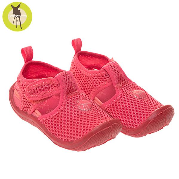 德國lassig-嬰幼童透氣快乾輕量沙灘涼鞋-琥珀粉