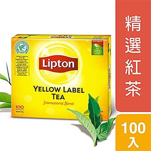 立頓黃牌紅茶實惠裝2g x100入【愛買】