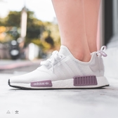 ISNEAKERS ADIDAS Originals NMD R1 女鞋 粉紫色 芋頭紫 休閒 慢跑鞋 BD8024