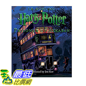 [106美國直購] 2017美國暢銷書 Harry Potter and the Prisoner of Azkaban:The Illustrated Edition