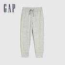 Gap男幼童 純棉基本款運動休閒褲 670526-淺灰色