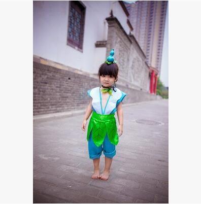 熊孩子❤環保表演服葫蘆娃舞台成人幼兒六一表演服裝(主圖款1)