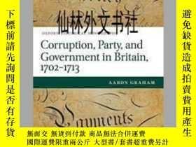 二手書博民逛書店【罕見】2015年出版 1702-1713年Corruption
