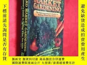 二手書博民逛書店Backyard罕見Market Gardening (小16開
