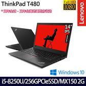【ThinkPad】T480 20L5A02GTW 14吋i5-8250U四核SSD效能MX150獨顯Win10商務筆電