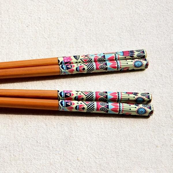 [協貿國際]筷子家用防滑天然竹木家庭裝無漆無蠟廚房餐具1雙入