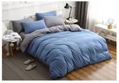 【H00831】 2018新品 一般雙人四件組 北歐簡約風格 床罩 床包 被套 枕頭套 有鬆緊帶的床罩款 限宅配