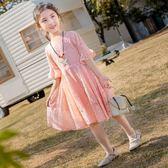 2019新款夏裝女童連衣裙洋氣兒童公主裙女孩衣服裙子童裝韓版夏季 YN522『易購3C館』