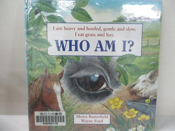 【書寶二手書T5/少年童書_IEC】Who am I?Heavy and Hoofed_Moira Butterfield