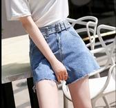 牛仔短褲基本款M-4XL中大尺碼褲子休閒褲4F074.1938愛尚布衣