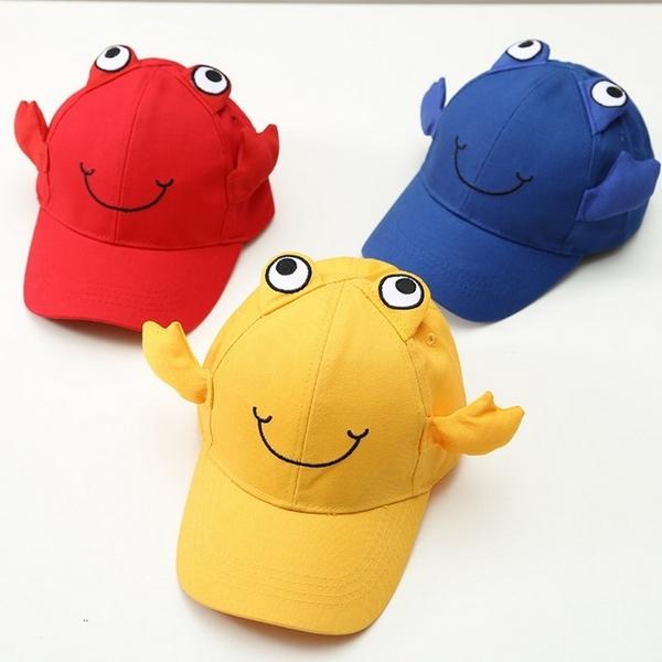 寶寶帽 螃蟹造型 棒球帽 遮陽帽 鴨舌帽 防曬 嬰兒帽 DL11243 好娃娃