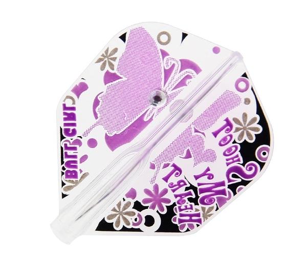 【Fit Flight AIR】BULL GIRL Shape Black x Purple 鏢翼 DARTS