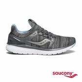 SAUCONY STRETCH & GO EASE 輕運動休閒女鞋-鐵灰x麻灰