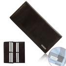Calvin Klein荔枝紋皮革長夾禮盒(咖啡色/送帕巾)103025-1
