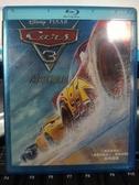 挖寶二手片-Q04-080-正版BD【汽車總動員3:閃電再起 3D單碟】-藍光動畫 迪士尼(直購價)海報是影印