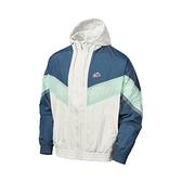 Nike 外套 NSW Windrunner Jacket 男款 米色 綠 風衣外套 運動休閒 【ACS】 CZ0782-133