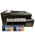 【搭BTD60BK+BT5000三彩原廠墨水2組】Brother DCP-T820DW 威力印大連供雙面商用無線複合機 原廠保固