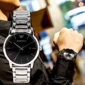 EMPORIO ARMANI 亞曼尼 AR2499 簡約復古時尚精品錶 熱賣中!