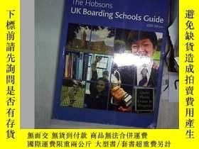二手書博民逛書店The罕見Hobsons UK Boarding Schools Guode 2009 Edition 霍布森英國