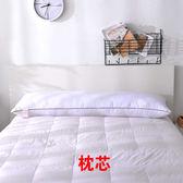 送純棉枕套雙人枕頭長款枕芯可愛一對情侶護頸枕1.2m米床QQ577『樂愛居家館』