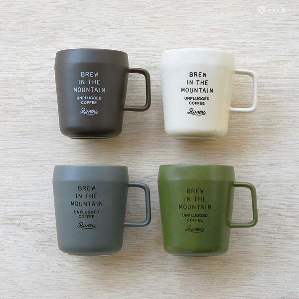 日本 Rivers 陶瓷馬克杯-共4色