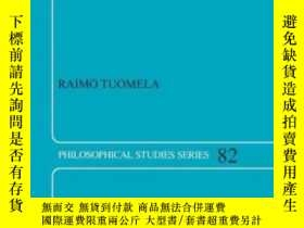二手書博民逛書店Cooperation罕見- A Philosophical StudyY256260 Raimo Tuome