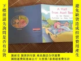 二手書博民逛書店英文原版a罕見visit from aunt beeY17584 本書編輯部 本書出版社 出版2012