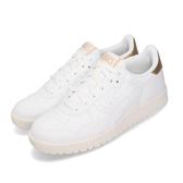 Asics Tiger 休閒鞋 Japan S 白 金 奶油底 女鞋 基本款 小白鞋 【PUMP306】 1192A125100
