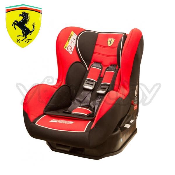 法拉利 Ferrari 0-4歲汽車安全座椅/汽座 -紅