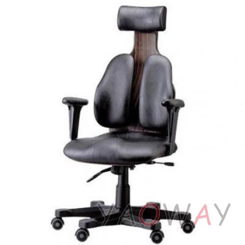 【耀偉】DUOREST-Chairman總裁椅DR-140雙背椅/人體工學椅/辦公椅/主管椅/電腦椅