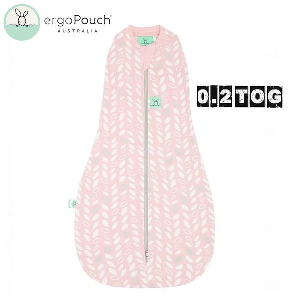 【愛吾兒】澳洲 ErgoPouch ergoCocoon 二合一舒眠包巾 0.2TOG(四季款) 甜苗粉
