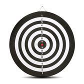 雙面飛鏢靶專業飛鏢盤套裝15寸18寸成人兒童娛樂磁鐵飛鏢植絨硬質【一條街】