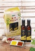 東方傳統油品禮盒-初榨苦茶油2入